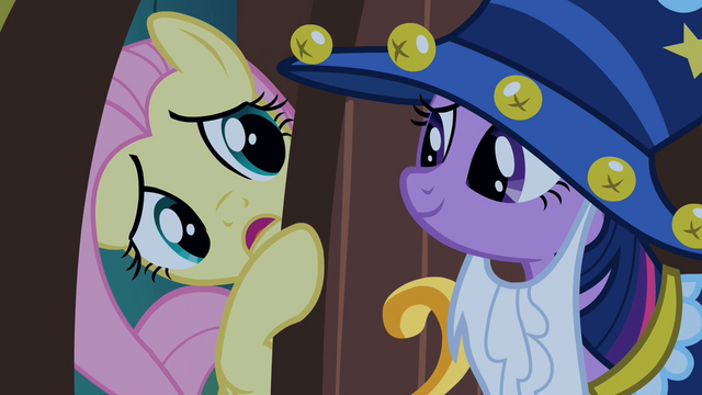 File:Fluttershy answering door S2E4.png