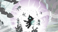 Thorax and changelings expelled from Canterlot S6E16