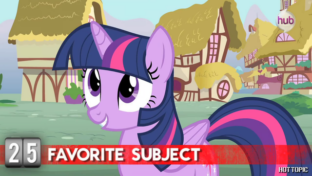 "File:Hot Minute with Twilight Sparkle ""and reading about magic"".png"