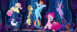 Mane six as seaponies MLPTM