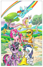 My Little Pony comic issue 1 early cover