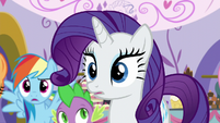 Rarity looking S5E14