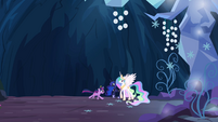 Twilight gallops to Celestia and Luna S4E02