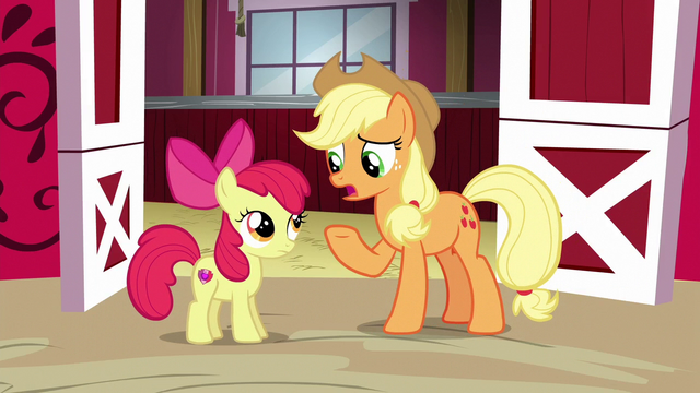 "File:Applejack ""things aren't like they were"" S6E14.png"