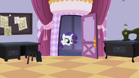 Rarity looking inside the room S2E05