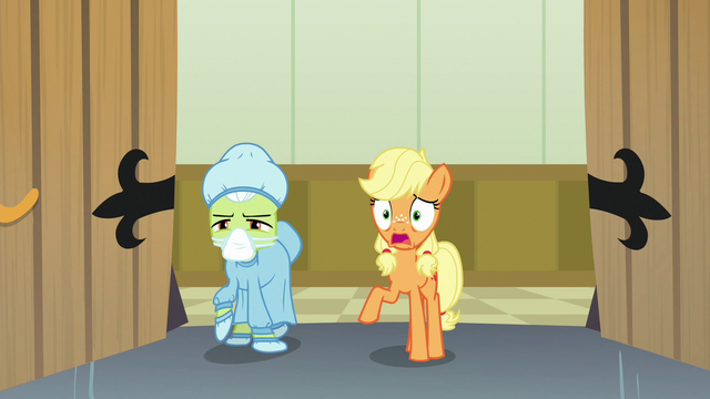 File:Young Applejack worried about Big McIntosh S6E23.png