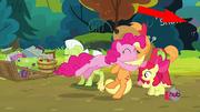 FANMADE Slenderpony in Pinkie Apple Pie