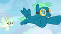 Sky Stinger flying confidently through the sky S6E24.png