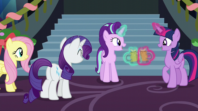 File:Starlight and Twilight clink their cider cups S6E8.png