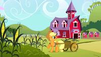 Applejack harvesting corn S2E01.png