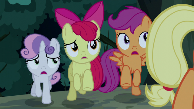 File:Cutie Mark Crusaders try to intervene S5E6.png