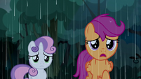 "Scootaloo ""the rain is only getting worse"" S5E6"