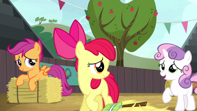 """File:Sweetie Belle """"we did make things a little better"""" S5E6.png"""