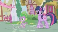 "Twilight ""oh, Spike, stop"" S1E06"
