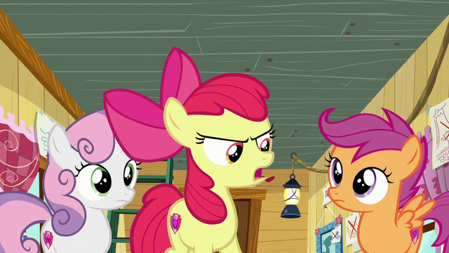 """File:Apple Bloom """"But we're the Cutie Mark Crusaders!"""" S6E4.png"""