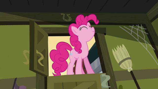 File:Pinkie Pie standing in Cranky's door frame S02E18.png
