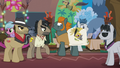 Rogue carrying a Daring Do body pillow S6E13.png