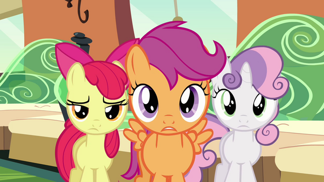 File:Cutie Mark Crusaders disappointed S03E11.png
