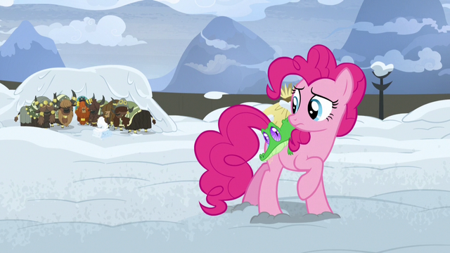 File:Pinkie Pie watches Rutherford and yaks sway S7E11.png