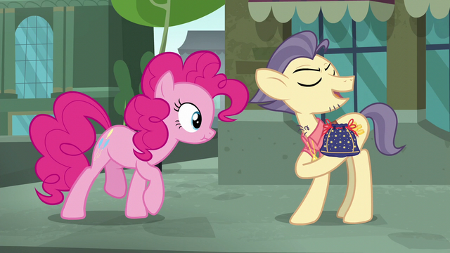 """File:Pouch Pony """"I might be able to part with it"""" S6E3.png"""