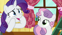"Rarity ""that is so adorable!"" S7E6"