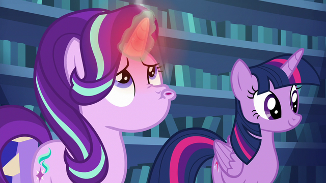 File:Starlight blowing on her overheated horn S6E21.png
