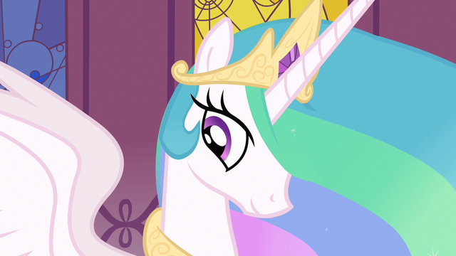 File:Princess Celestia being motherly S3E1.png