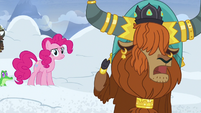 "Rutherford ""snow falls from mountain all the time!"" S7E11"