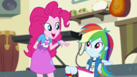 """Pinkie Pie """"I liked yours, Rainbow Dash"""" EGS1"""