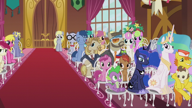 File:Crowd of wedding guests right side S5E9.png