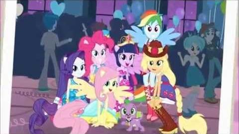 Equestria Girls Chegou a Grande Noite ( Reprise ) Letra na descrição.