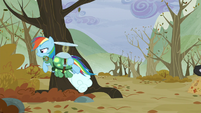 Rainbow and Tank leave the tree S5E5