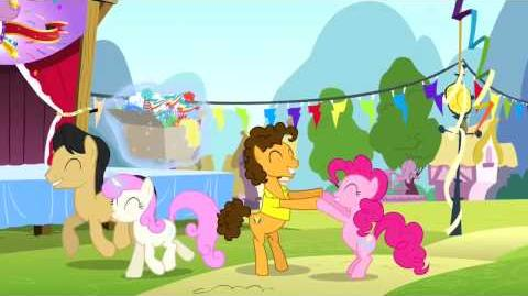 Romanian My Little Pony Pinkie The Party Planner Song - Reprise HD