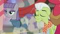 Apple Bloom zooms over to the presents S5E20.png