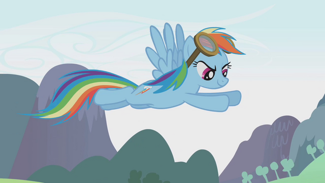 File:Rainbow Dash flying above the Parasprites S01E10.png