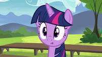 Twilight Sparkle confused S4E21