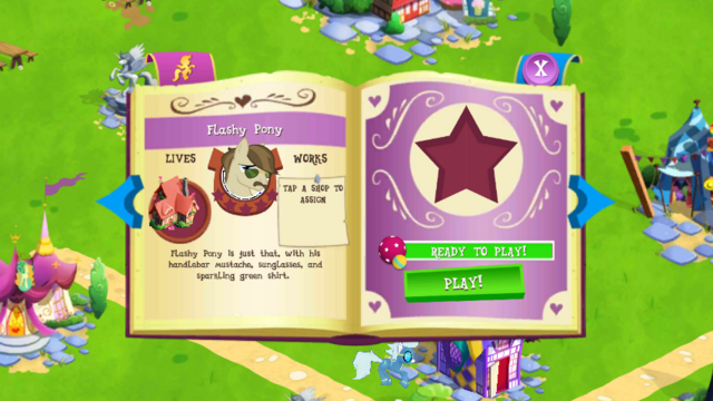 File:Flashy Pony album page MLP mobile game.png