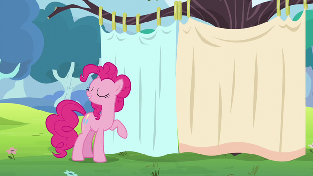 File:Pinkie stands by a curtain S5E11.png