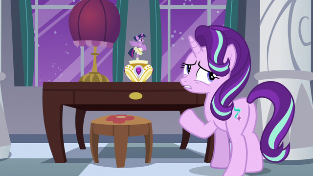 """File:Starlight Glimmer """"instead of talking about it"""" S7E10.png"""