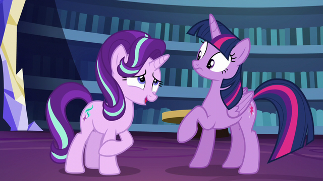 File:Starlight plays off her nervousness S6E1.png