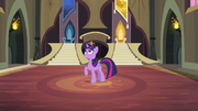 Twilight in old pony sisters' castle S4E01.png