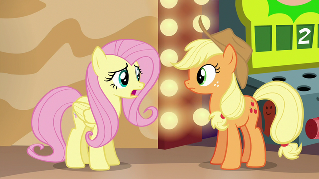 """File:Fluttershy """"how can we get everypony to believe"""" S6E20.png"""