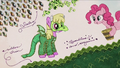 Pinkie covers Cherry Berry's costume in glitter RPBB3.png
