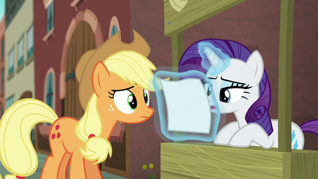 File:Rarity starts reading the flyer S5E16.png