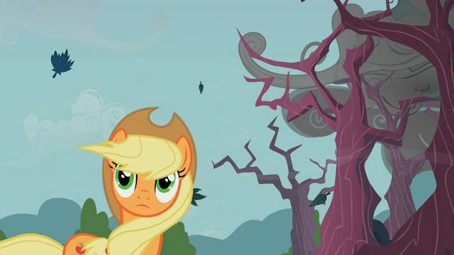 File:Applejack windswept hair from the first sign S2E12.png