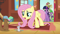 Fluttershy Cutie Mark too early animation error S3E13