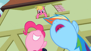 Pinkie Pie accepts Cherry Berry's apology S2E08