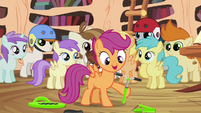 Scootaloo assembling scooter S4E15