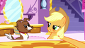 Applejack about to brush Winona S5E13.png