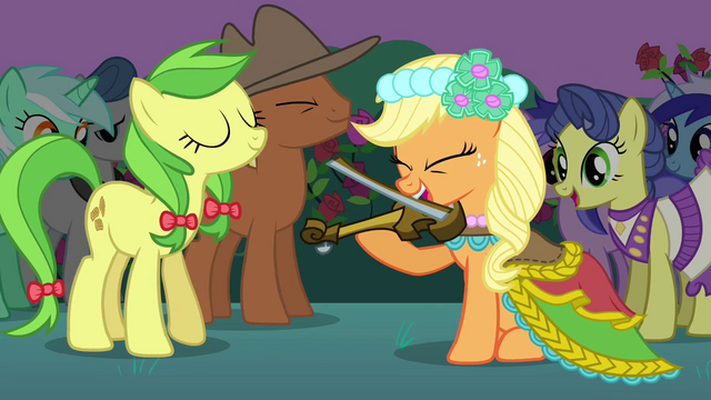 File:Applejack playing instrument S2E26.png